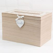 Best Wishes For The Mr & Mrs Love Story MDF Card Box